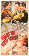 "Movie Posters:Drama, The Toast of New York (RKO, 1937). Three Sheet (41"" X 81"").. ..."