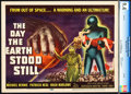 "Movie Posters:Science Fiction, The Day the Earth Stood Still (20th Century Fox, 1951). CGC GradedTitle Lobby Card (11"" X 14"").. ..."