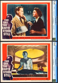 "Movie Posters:Science Fiction, The Day the Earth Stood Still (20th Century Fox, 1951). CGC GradedLobby Cards (2) (11"" X 14"").. ... (Total: 2 Items)"