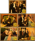"Movie Posters:Drama, Tarnished Lady (Paramount, 1931). Lobby Cards (5) (11"" X 14"").. ...(Total: 5 Items)"