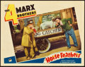 "Movie Posters:Comedy, Horse Feathers (Paramount, R-1936). Lobby Card (11"" X 14"").. ..."