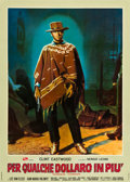 "Movie Posters:Western, For a Few Dollars More (PEA, 1966). Italian Foglio (26.5"" X 37"")....."