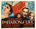 "Movie Posters:Drama, Imitation of Life (Universal, 1934). Half Sheet (22"" X 28"").. ..."