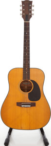 Musical Instruments:Acoustic Guitars, 1972 Gibson J-50 Deluxe Natural Acoustic Guitar, Serial # 638981....