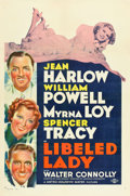 "Movie Posters:Comedy, Libeled Lady (MGM, 1936). One Sheet (27"" X 41"") Style D.. ..."