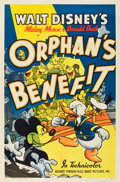 "Movie Posters:Animation, Orphan's Benefit (RKO, 1941). One Sheet (27"" X 41"").. ..."