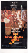 "Movie Posters:Western, For a Few Dollars More (United Artists, 1967). Three Sheet (41"" X81"").. ..."