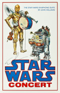 "Movie Posters:Science Fiction, Star Wars (20th Century Fox, 1978). Autographed Concert Poster (24""X 37"").. ..."