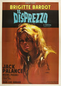 "Movie Posters:Drama, Le Mepris (Interfilm, 1963). Italian 4 - Foglio (55"" X 78"").. ..."