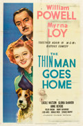 "Movie Posters:Mystery, The Thin Man Goes Home (MGM, 1945). One Sheet (27"" X 41"").. ..."