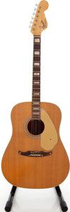 Musical Instruments:Acoustic Guitars, 1960s Fender Kingman Natural Acoustic Guitar, Serial # 16478. ...