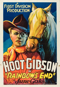 """Rainbow's End (First Division Production, 1935). One Sheet (27"""" X 41"""")"""