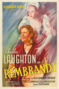 "Movie Posters:Romance, Rembrandt (United Artists, 1936). One Sheet (27"" X 41"").. ..."