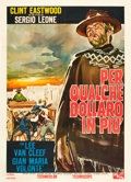 "Movie Posters:Western, For a Few Dollars More (PEA, 1965). Italian 2 - Foglio (39"" X 55"").. ..."