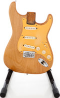 Musical Instruments:Electric Guitars, 1950s Fender Stratocaster Hardtail Natural Loaded Electric GuitarBody....