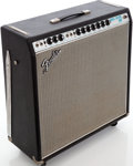 Musical Instruments:Amplifiers, PA, & Effects, 1969 Fender Super Reverb Black Guitar Amplifier, Serial #A42511....