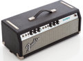 Musical Instruments:Amplifiers, PA, & Effects, Early 1970s Fender Bassman Black Guitar Amplifier Head, Serial #A62744....