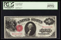 Large Size:Legal Tender Notes, Solid Serial Number B11111111A Fr. 36 $1 1917 Legal Tender PCGS Extremely Fine 40PPQ.. ...