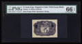Fractional Currency:Second Issue, Milton 2E5R.2b 5¢ Second Issue Negative Essay PMG Gem Uncirculated66 EPQ.. ...