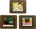 """Movie Posters:Miscellaneous, Shirley Temple Lot (20th Century Fox, 1935-39). Glass Slides (3) (3.5"""" X 4"""").. ... (Total: 3 Items)"""