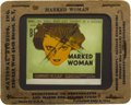 "Movie Posters:Crime, Marked Woman (Warner Brothers, 1937). Glass Slide (3.5"" X 4"").. ..."