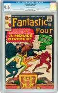 Silver Age (1956-1969):Superhero, Fantastic Four #34 Pacific Coast pedigree (Marvel, 1965) CGC NM+ 9.6 Off-white to white pages....