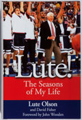Books:Biography & Memoir, Lute Olson. SIGNED. Lute! Dunne, 2006. First edition, first printing. Signed by the author. As new....