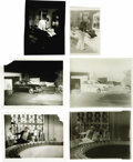 "Movie/TV Memorabilia:Photos, James Dean ""Rebel Without a Cause"" Set Photos with Negatives. Threerare unpublished b&w photos from the set of Rebel With...(Total: 1 Item)"