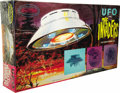 """Movie/TV Memorabilia:Memorabilia, Roy Thinnes """"Invaders"""" Model Kit. A vintage 1/72 scale model of thealien UFO from the classic sci-fi TV series. The kit was... (Total:1 Item)"""