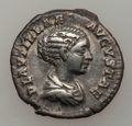 Ancients:Ancient Lots  , Ancients: ROMAN EMPIRE. Plautilla - Julia Mamaea. Lot of five (5) AR denarii.... (Total: 5 coins)