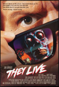 """Movie Posters:Science Fiction, They Live (Universal, 1988). One Sheet (27"""" X 40""""). DS. ScienceFiction.. ..."""