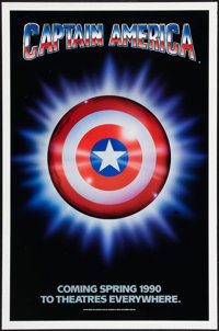 "Captain America (Columbia/Tristar, 1991). One Sheet (27"" X 41"") Advance. Action"