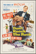 "Movie Posters:Rock and Roll, Don't Knock the Rock (Columbia, 1957). One Sheet (27"" X 41""). Rock and Roll.. ..."