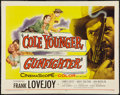 """Movie Posters:Western, Cole Younger, Gunfighter (Allied Artists, 1958). Half Sheet (22"""" X 28""""). Western.. ..."""