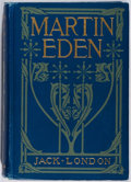 Books:Literature 1900-up, Jack London. Martin Eden. Macmillan, 1909. First edition,first printing. Hinges cracked. Title page cracked wit...