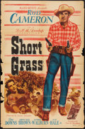 "Movie Posters:Western, Short Grass (Allied Artists, 1950). One Sheet (27"" X 41""). Western.. ..."