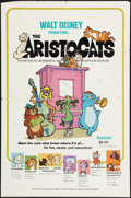 """Movie Posters:Animation, The Aristocats (Buena Vista, 1971). One Sheet (27"""" X 41"""").Animation.. ..."""