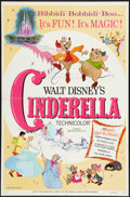 "Movie Posters:Animation, Cinderella (Buena Vista R-1973). One Sheet (27"" X 41""). Animation.. ..."
