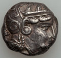 Ancients:Greek, Ancients: Athens. Ca. 353-294 BC. AR tetradrachm (17.15 gm)....