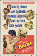 "Movie Posters:Film Noir, The Bribe (MGM, 1949). One Sheet (27"" X 41""). Film Noir.. ..."