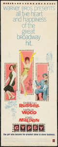 """Movie Posters:Musical, Gypsy (Warner Brothers, 1962). Insert (14"""" X 36""""). Musical.. ..."""