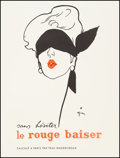 """Movie Posters:Drama, Le Rouge Baiser (Paris, Circa 1950). French Advertising Poster (17.25' X 22.25""""). Advertising.. ..."""