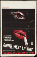 """Movie Posters:Melodrama, The Love Feast (Benelux Films, 1960s). Belgian (14"""" X 22"""").Melodrama.. ..."""