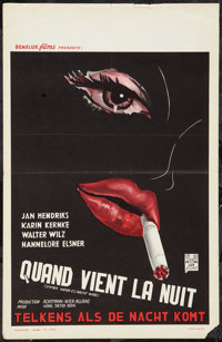 "The Love Feast (Benelux Films, 1960s). Belgian (14"" X 22""). Melodrama"
