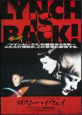 "Movie Posters:Drama, Lost Highway (October Films, 1997). Japanese B2 (20"" X 28.5""). Drama.. ..."
