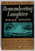 Books:Fiction, Wallace Stegner. Remembering Laughter. Little, Brown, 1937.First edition, first printing. Toning and foxing to clot...