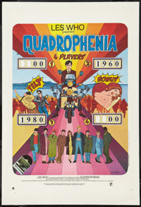 """Quadrophenia (Parafrance, 1979). French Petite (15.5"""" X 23.5""""). Rock and Roll"""