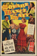 "Movie Posters:Musical, Square Dance Katy (Monogram, 1950). One Sheet (27"" X 41""). Musical.. ..."