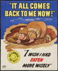 """Movie Posters:War, World War II Propaganda Poster (U.S. Government Printing Office,1943). Poster (14"""" X 17""""). """"It All Comes Back To Me Now!"""" W..."""
