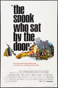 "The Spook Who Sat by the Door and Other Lot (United Artists, 1973). One Sheets (2) (27"" X 41""). Blaxploitation..."